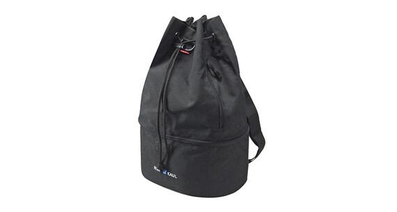 KlickFix Matchpack Fashion Cykeltaske sort